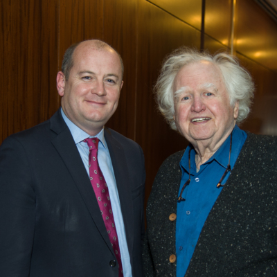 Peter Ryan and Malachy McCourt