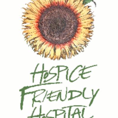 Hospice Friendly Hospitals alternative sunflower logo
