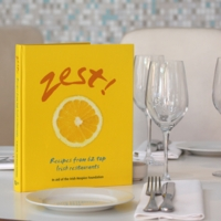 Zest!Cookbook cover.