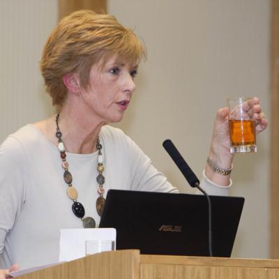 Dr. Susan Delaney delivers a speech