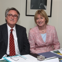 Professor Alan Kelleher - forum meeting Fitzwilliam hotel Sept 16.JPG