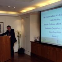 Allan Kellehear Forum on end-of-life meeting Sept 16 09.JPG