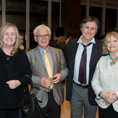 Chantal O'Sullivan, Dan Heaney, Gabriel Byrne and Marie Heaney