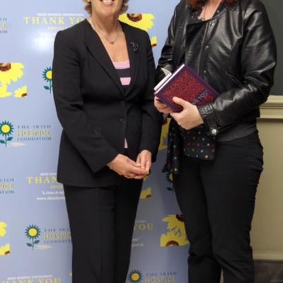 Vivienne Jupp (left) Thank You book launch Oct 21 2010.jpg
