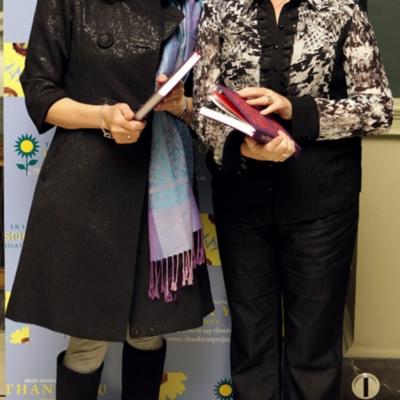 Jane Mc Kenna (right) Thank You Book Launch Oct 10 2010.jpg