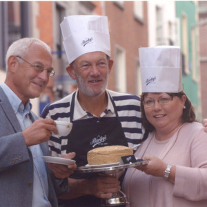 Ireland's Biggest Coffee Morning Launch, 2003.