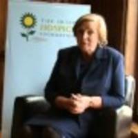 Minister Frances Fitzgerald - Pyjama day