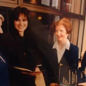 Mary Redmond, Sister Annette, Sister Bernadette and Sister Dorothy