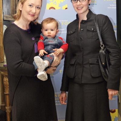 Caroline Lynch (left) Thank You book launch Oct 21 2010.jpg